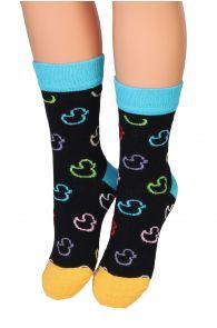 PARDIRALLI black cotton socks for children | BestSockDrawer.com