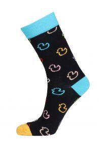 PARDIRALLI black cotton socks | BestSockDrawer.com