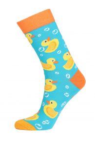 PARDIRALLI blue and orange cotton socks | BestSockDrawer.com