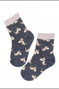 PLUUTO angora wool socks for kids | BestSockDrawer.com