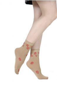 POPPY beige 60 DENIER socks for women | BestSockDrawer.com