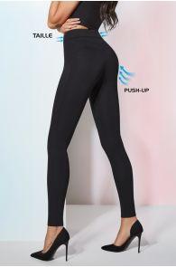 PERRIE 200DEN black viscose leggings | BestSockDrawer.com