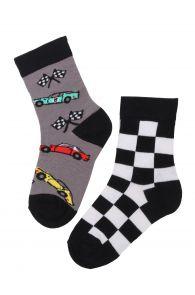 RACECAR cotton socks for kids | BestSockDrawer.com