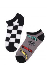 RACECAR low-cut cotton socks | BestSockDrawer.com