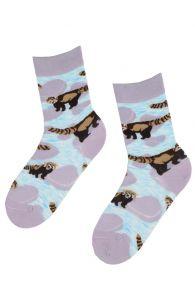 RED PANDA socks for animal lovers | BestSockDrawer.com