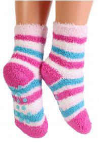 RONJA cozy pink home socks for kids   BestSockDrawer.com