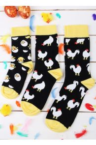 CHICK family gift box with 3 pairs of socks | BestSockDrawer.com