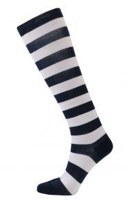 SAILOR striped cotton knee-highs | BestSockDrawer.com