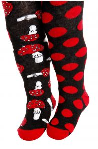 BETTI black cotton tights for babies | BestSockDrawer.com