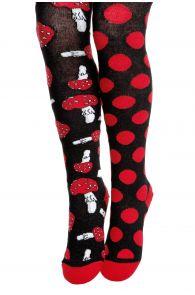 BETTI black cotton tights for children | BestSockDrawer.com