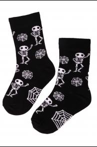 SKELETON cotton halloween socks | BestSockDrawer.com