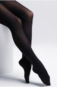 SMART TIGHTS black 90 DEN quickly biodegrading tights | BestSockDrawer.com
