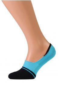VALERI blue no show socks for men | BestSockDrawer.com