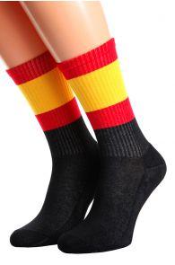 SPAIN flag socks for men and women | BestSockDrawer.com