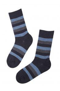 STEFAN striped merino socks for men | BestSockDrawer.com
