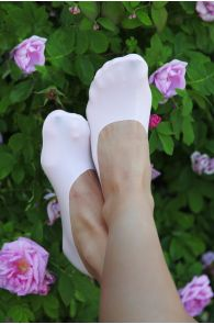 LISSABON light pink footies for women   BestSockDrawer.com