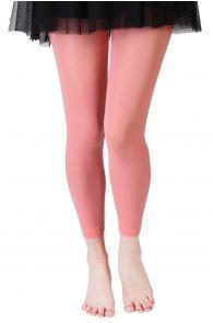 SUSAN coral pink leggings | BestSockDrawer.com