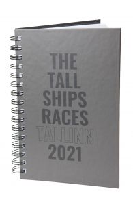 THE TALL SHIPS RACES 2021 grey notebook | BestSockDrawer.com