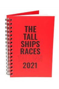 THE TALL SHIPS RACES 2021 red notebook | BestSockDrawer.com