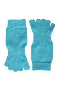 TOES blue toe socks | BestSockDrawer.com