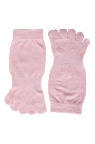 TOES pink toe socks | BestSockDrawer.com