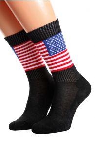 AMERICA flag socks for men and women | BestSockDrawer.com