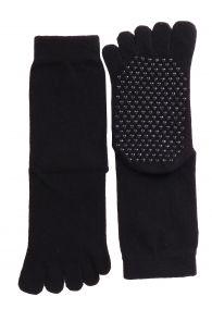 JOHNNY toe socks with anti-slip soles | BestSockDrawer.com