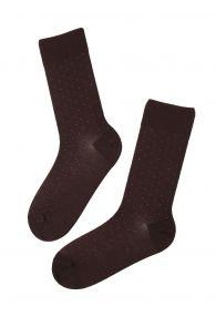 VEIKO bordeaux merino socks for men | BestSockDrawer.com