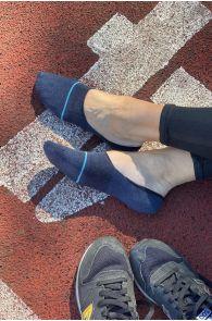 VIKI blue no show socks for women | BestSockDrawer.com