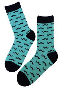 VUNTS blue-green cotton socks for men | BestSockDrawer.com