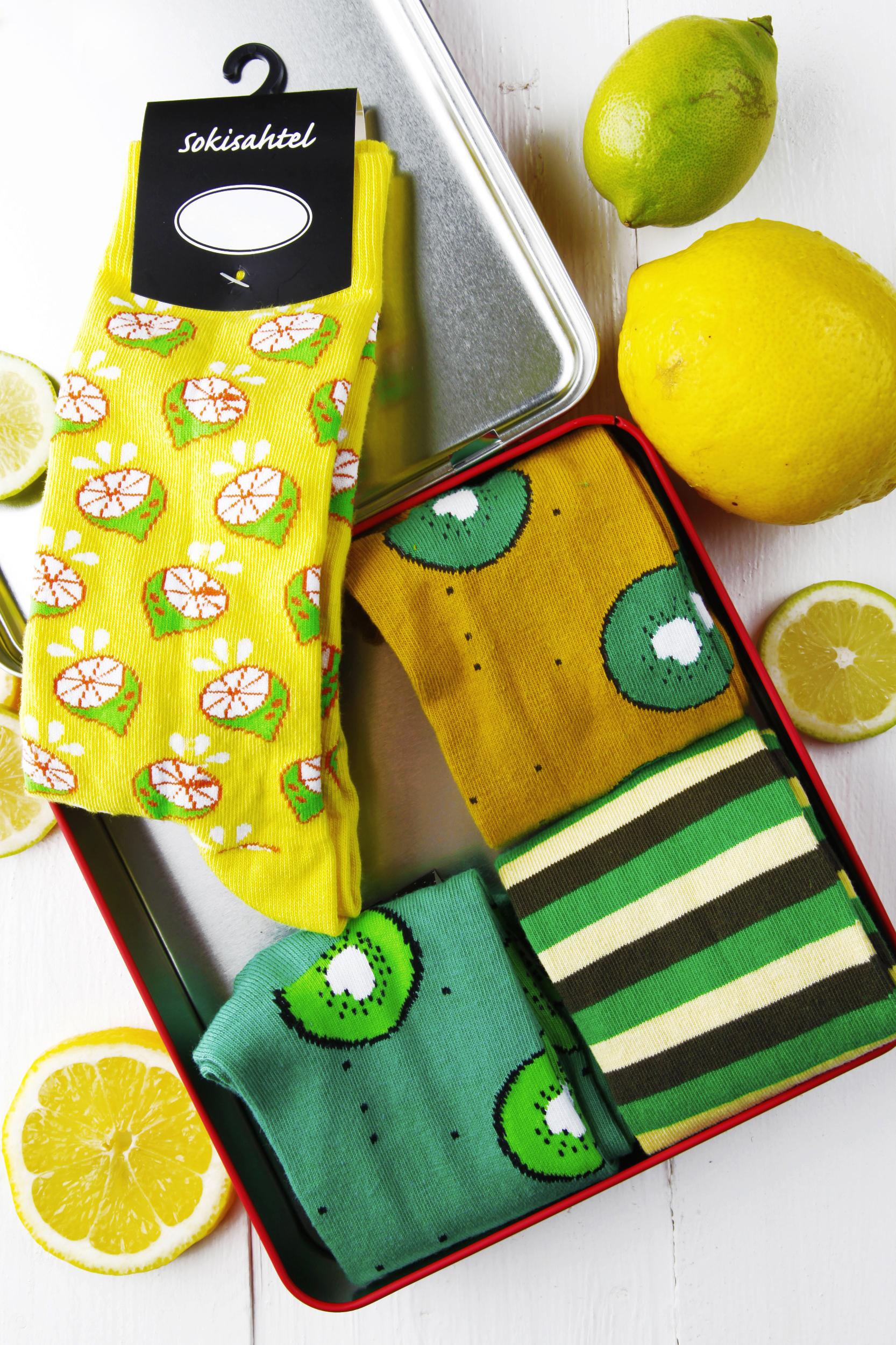 Lemon & lime socks
